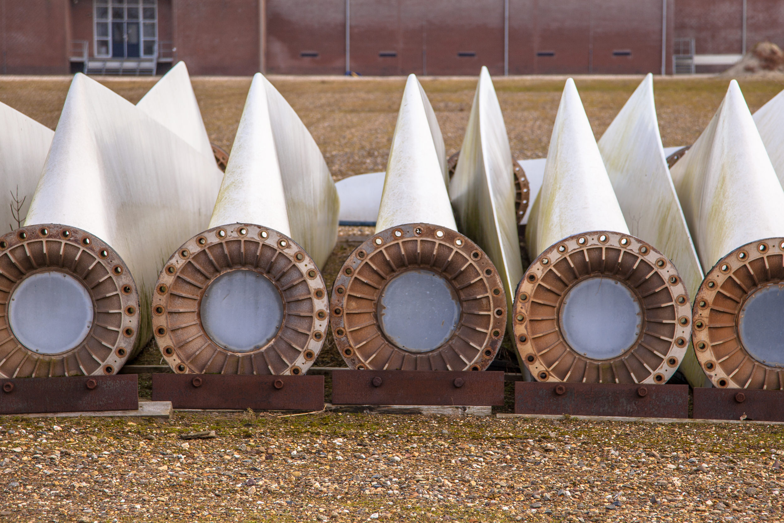 Steam to Value Stream wind turbines. © National Composites Centre.