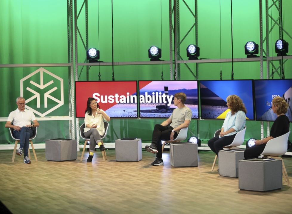 ISPO Re.Start Days 'Will there be a green recovery' panel, © Messe München GmbH