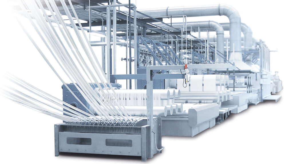 Oerlikon Neumag staple fibre plants stand for highest product quality and absolute reliability. © Oerlikon Neumag.
