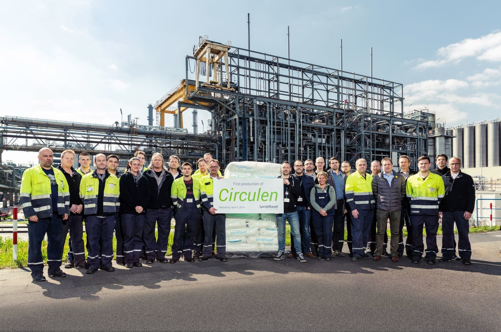 LyondellBasell has established a molecular recycling pilot plant in Ferrara, Italy, which is processing household plastic waste at a rate of five-to-10 kg an hour. © INDA.