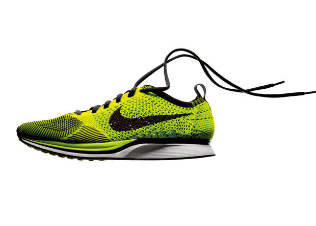 Nike Flyknit A Seamlessly Knitted Running Shoe