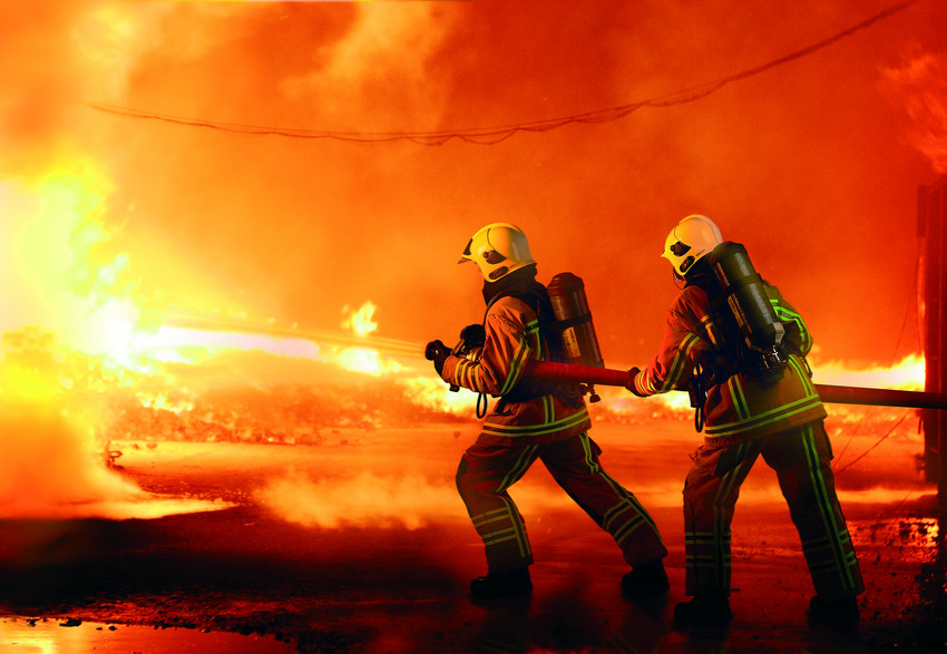 fire fighters Nasa research into flexible, high-temperature space materials may some day improve personal fire shelter systems and help wildland firefighters better survive.