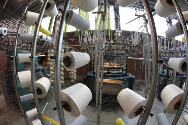 Argar Technology knitting plant in Busto Arsizio