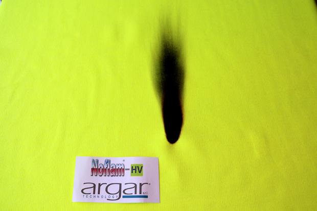 Argar Technology's NoFlam-HV knitted fabric