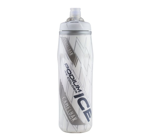 Back by popular demand!...CamelBak releases the Legendary Podium® Ice™  Water Bottle, re-engineered with NASA developed Aerotherm® aerogel insulation and guaranteed to keep watercold four times longer as a regular sport water bottle. Image © CamelBak