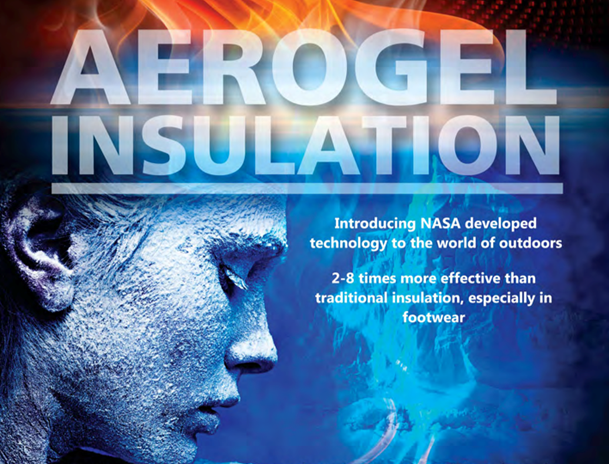 The company's nanoporous, flexible aerogel based products, which provide superior insulation performance in outdoor apparel and footwear, are making strong in-roads into major outdoor and footwear brands in the USA and around the world. Image © Aerogel technologies Inc.