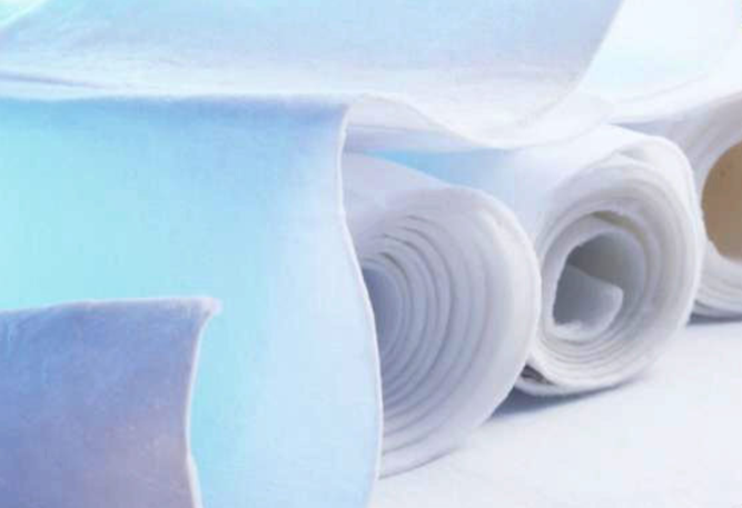 Aerotherm aerogel insulations in nonwoven flexible substrate form. Image © Aerogel Technologies Inc.