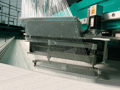 The weft laying system