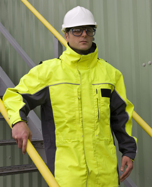 Nomex now combines high visibility according to EN471and benefits of heat and flame protection