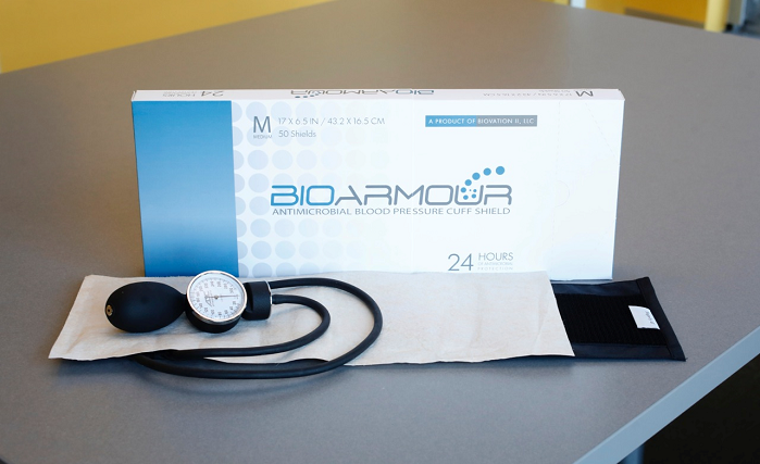 BioArmour was developed and tested in close collaboration with a large hospital system to proactively provide solutions for the mitigation of HAIs. © Biovation