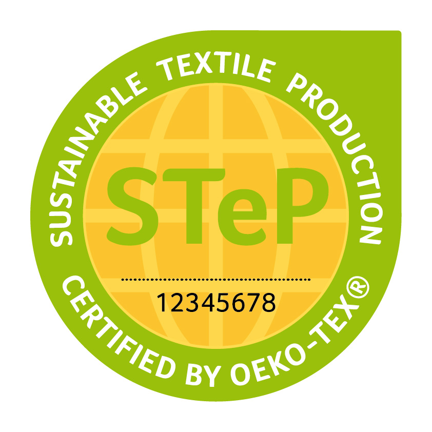 Sustainable Textile Production (STeP) certification system by Oeko-Tex. © Oeko-Tex