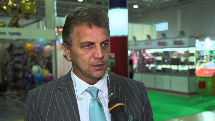 Andrew Razbrodin, head of the Russian Union of Textile and Light Industry Producers (Soyuzlegprom). © Eugene Gerden