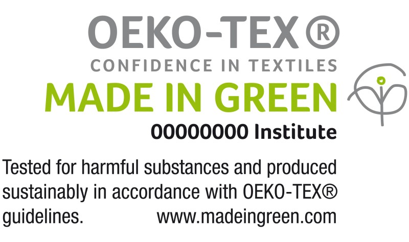 Made in Green by Oeko-Tex. © Oeko-Tex