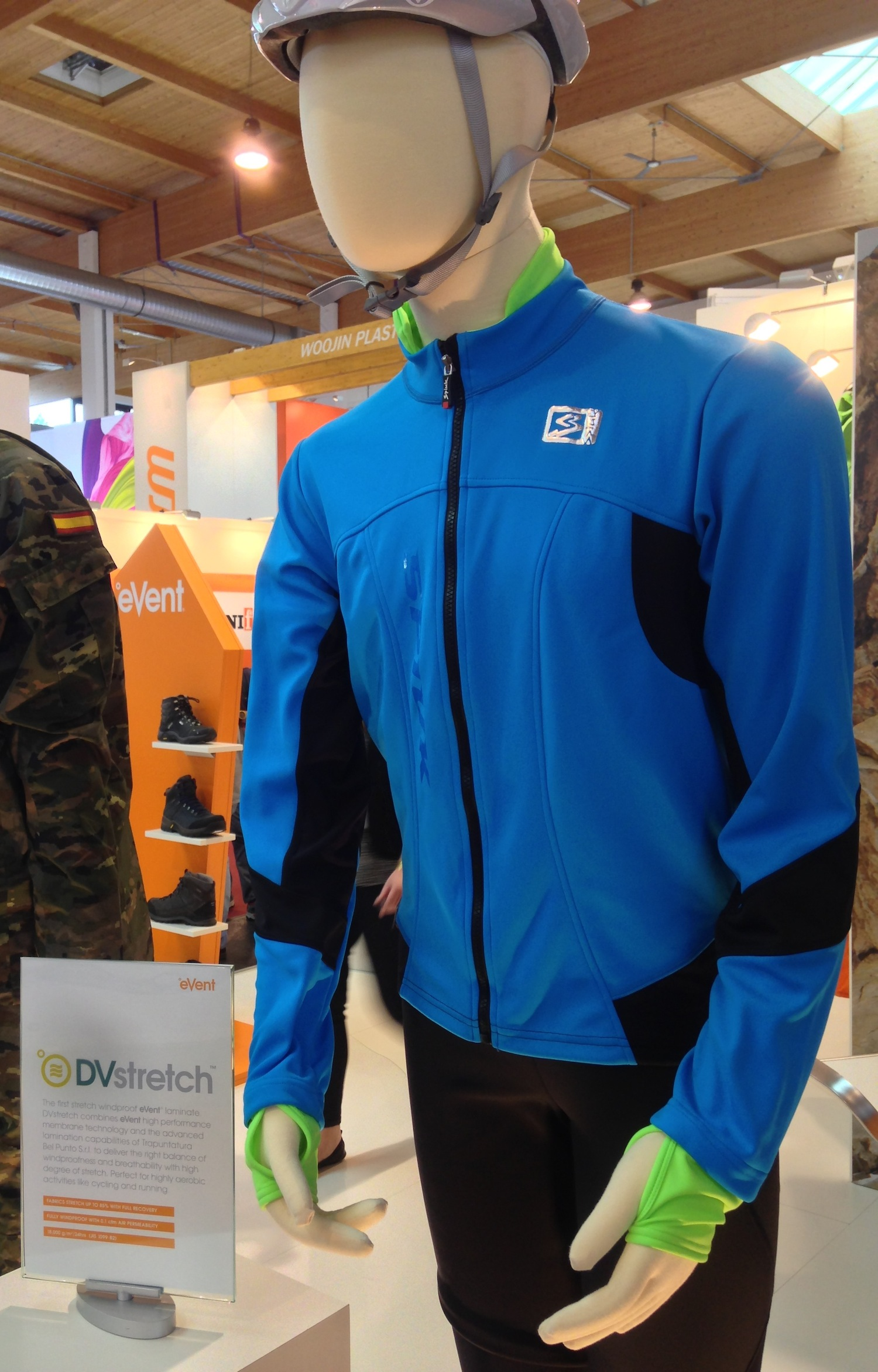 SPIUK Elite Winter Jacket with eVent DVStretch. © eVent fabrics