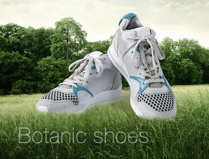 Botanic shoe concept. © Lenzing