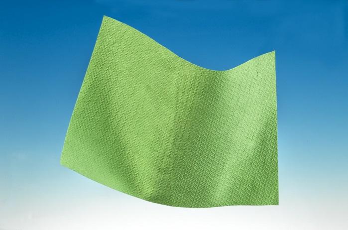 Evolon 3D in green version. © Freudenberg Performance Materials