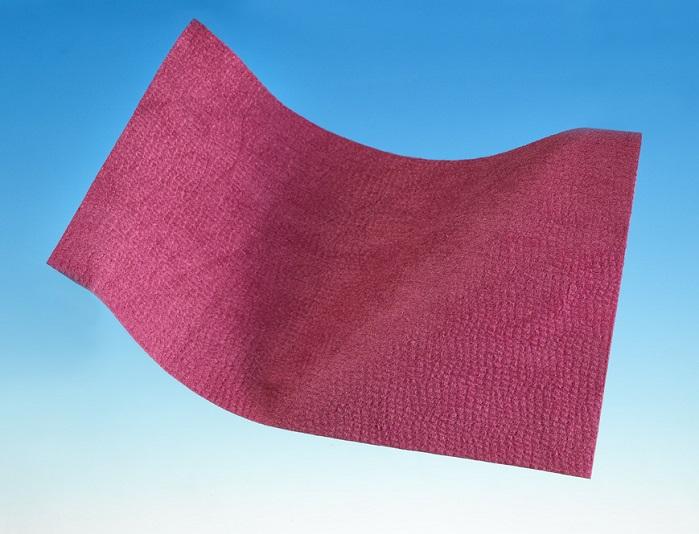 Evolon 3D in sangria colour. © Freudenberg Performance Materials