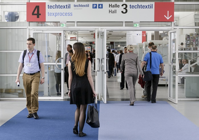 Techtextil 2017 will take place from 9-12 May in Frankfurt, Germany. © Messe Frankfurt Exhibition GmbH / Thomas Fedra