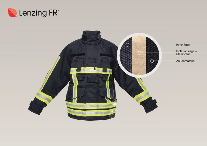 Lenzing FR, a complete solution for firefighter clothing. © Lenzing