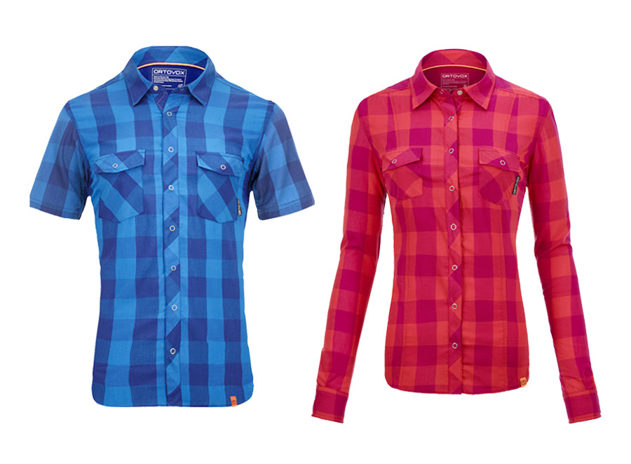 Mountain shirts that cool on their own have been developed using the MERINO ROCK'N'WOOL COOL. © Ortovox