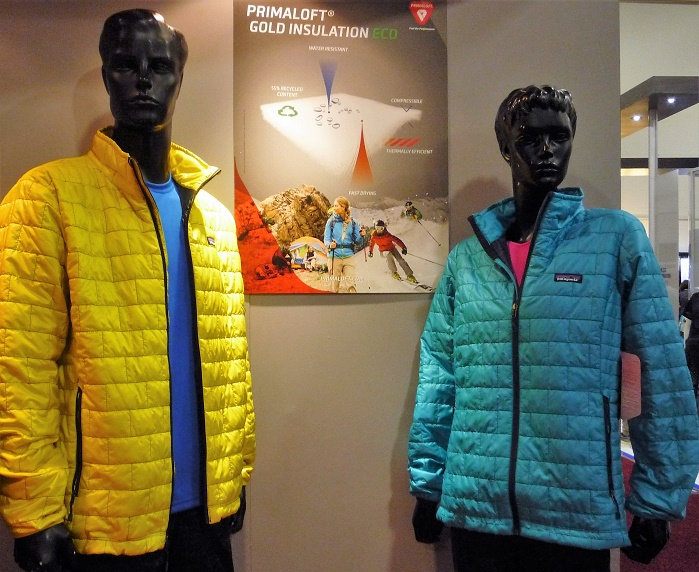 Patagonia is the first brand to introduce PrimaLoft Gold Eco insulation. © Debra Cobb