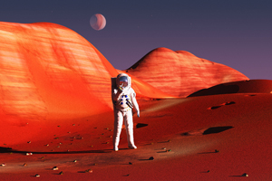 What would it take to make a manned mission to Mars a reality? A team of aerospace and textile engineering students from North Carolina State University believe part of the solution may lie in advanced textile materials.