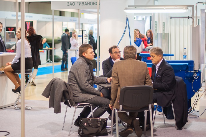 The technical textiles and nonwovens market was represented by key domestic players in 2016. © Messe Frankfurt RUS/Elena Muzikantova