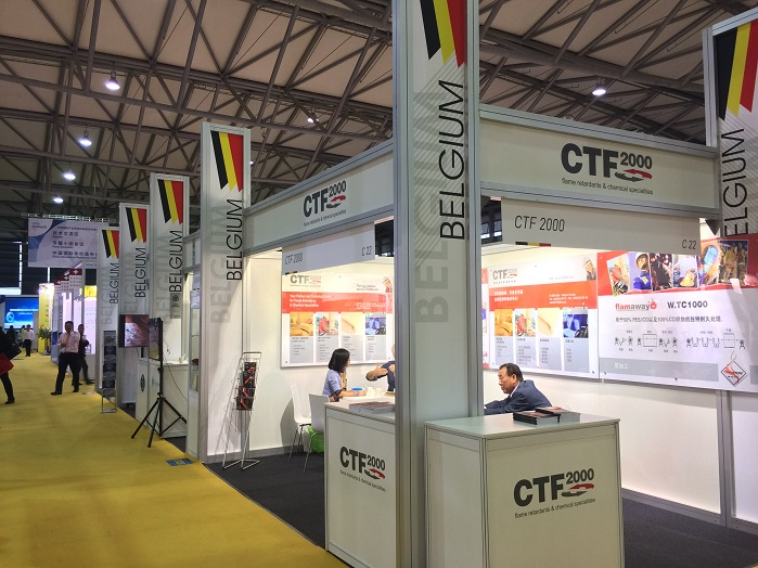 This year's Belgium Pavilion featured a number of companies exhibiting their products and technologies primarily for building, marine, automotive and medical sectors.