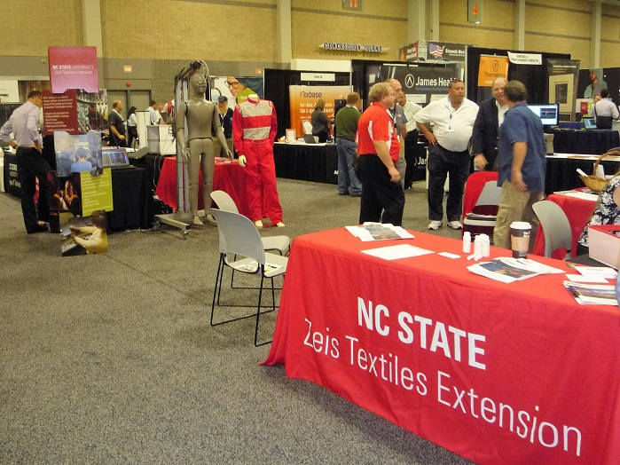 NC State's Testing Program gave IFAI attendees the opportunity to earn a certificate. © Debra Cobb