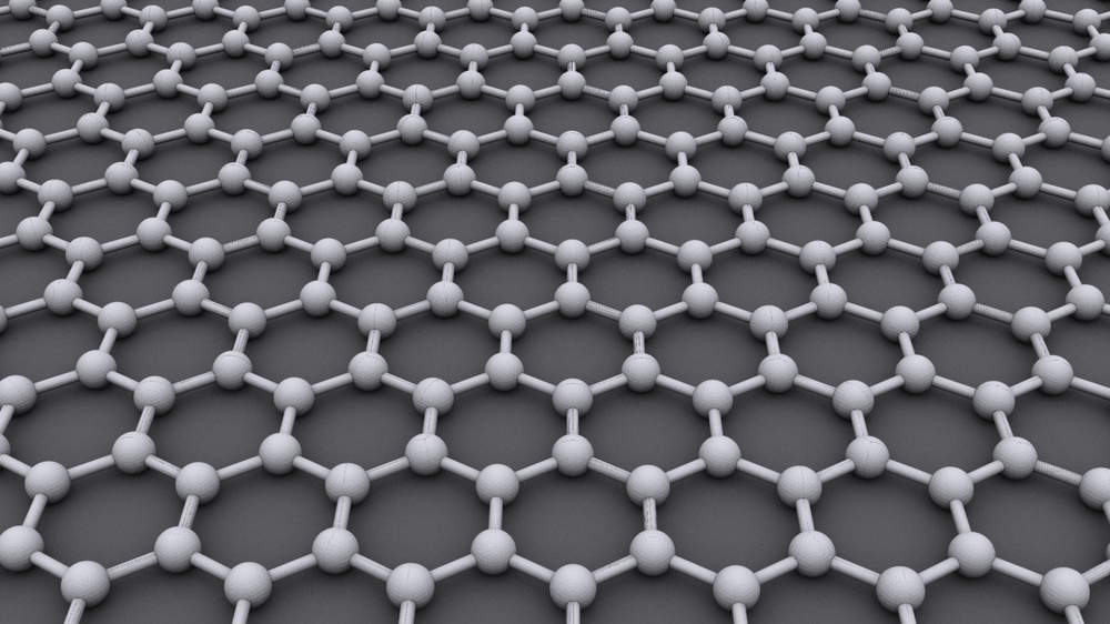 Graphene has been described as the new wonder material, being around 100 times stronger than steel. © AlexanderAlUS