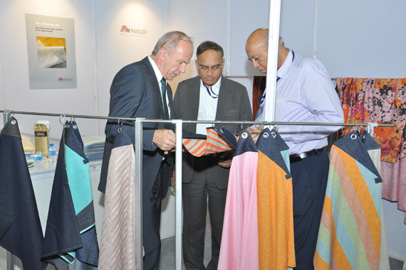 SAG and leading exhibition organizing company K AND D ITMACH EXPOSITIONS LLP joined hands to host the event. © Indian Textile Sourcing Exhibition