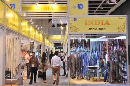 Around 18,000 buyers attended the Home Textiles and Furnishings Fair in 2016. © HKTDC