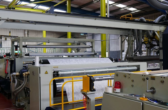 The new extrusion coating line can coat in a single coating pass at a greater speed; up to 120 metres/min. © Scott & Fyfe