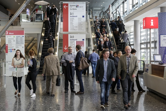 Messe Frankfurt events attracted more than 3.5 million visitors this year. © Messe Frankfurt Exhibition GmbH / Thomas Fedra