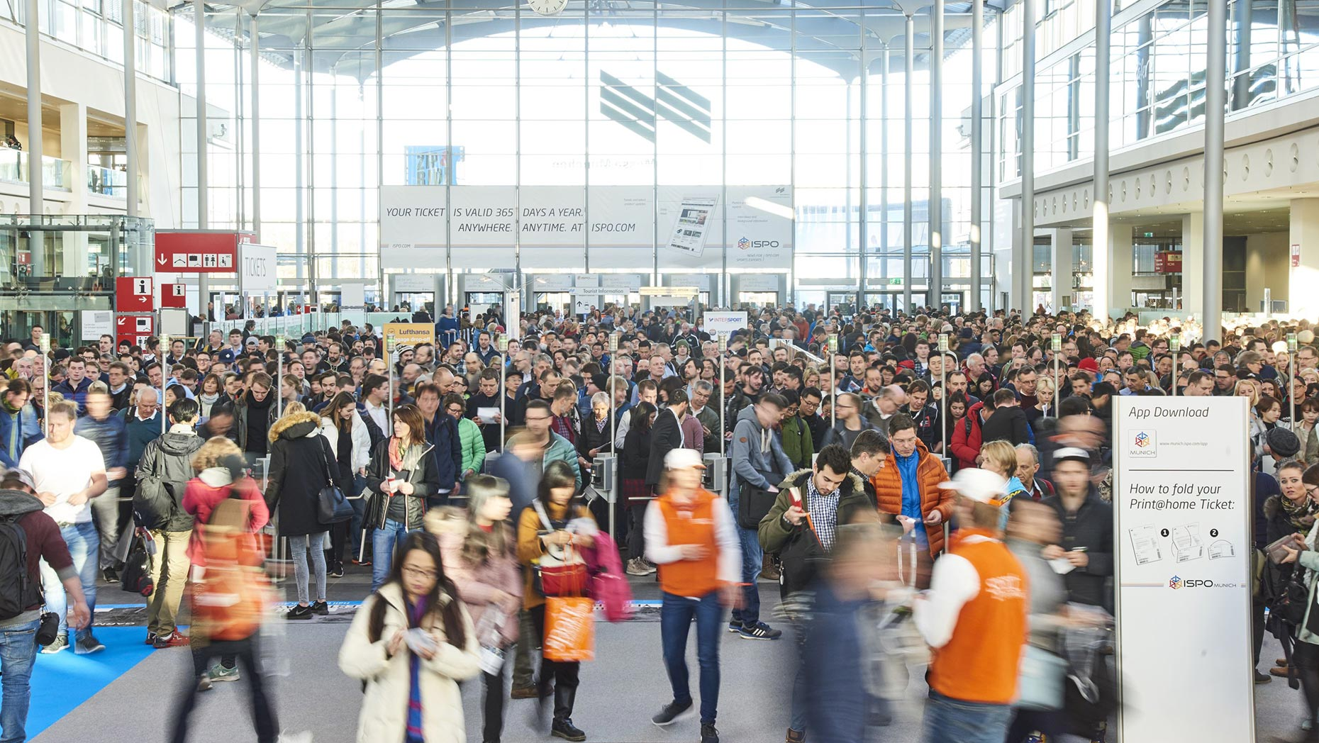 More than 85,000 visitors attended the fair in 2017. © ISPO Munich