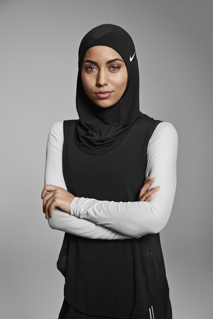 By providing Muslim athletes with the most ground-breaking products, like the Nike Pro Hijab, Nike aims to inspire even more women and girls. © Nike
