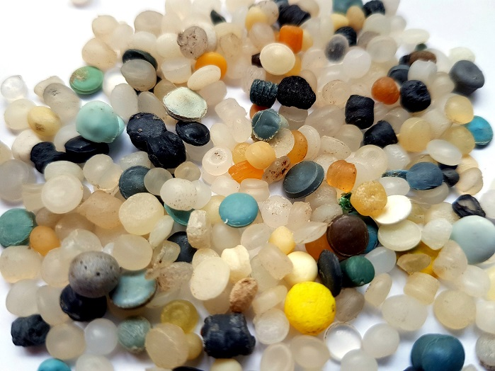 The research will also look at the loss of pre-production plastic pellets. © Eunomia
