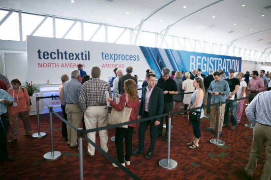 The event will host more than 151 exhibitors from 17 countries. © Messe Frankfurt/Techtextil NA