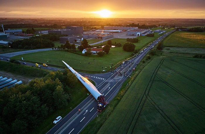 LM Wind Power is a Denmark-based technology developer and manufacturer of rotor blades for the wind industry. © GE