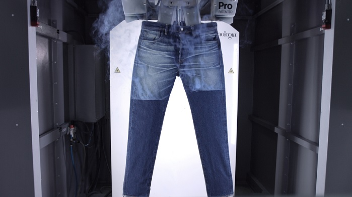 At the exhibition, Jeanologia launches the Quantum space, the digital designer denim simulator. © Jeanologia