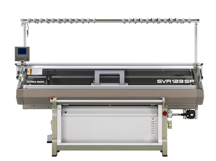 SVR123SP flat knitting machine. © Shima Seiki