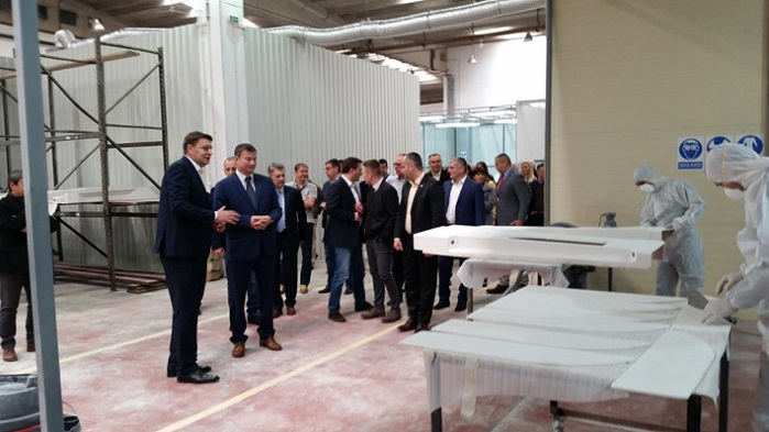 The new factory was officially launched in the presence of Serbia's Minister of Economy Goran Knežević. © Marko Janjušević, Priboj municipality