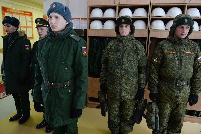 New military uniform on the basis of innovative technical textile solutions for Russian troops. © Eugene Gerden