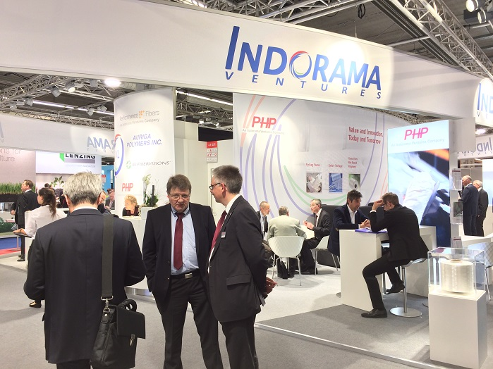 Indorama Ventures stand at Techtextil 2017. © Innovation in Textiles
