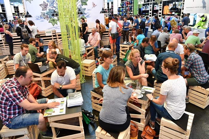 This year's OutDoor saw 965 exhibitors and 21,412 trade visitors from 90 countries. © OutDoor