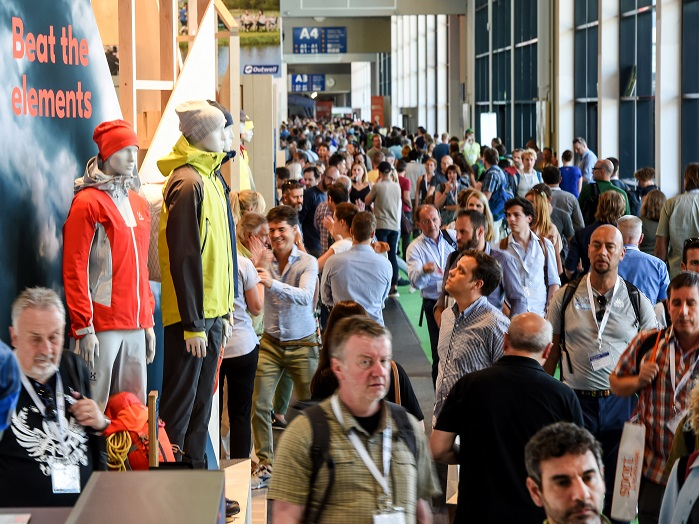 Exhibitors and visitors benefited from some modernisations to the Messe made since the last show. © OutDoor