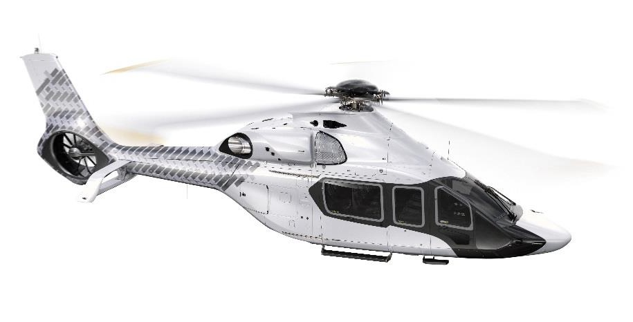 The helicopter is planned to enter into service in 2019. © Hexcel Corporation