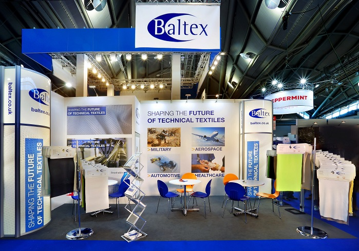 Baltex exhibited its recent developments at Techtextil in May. © Baltex