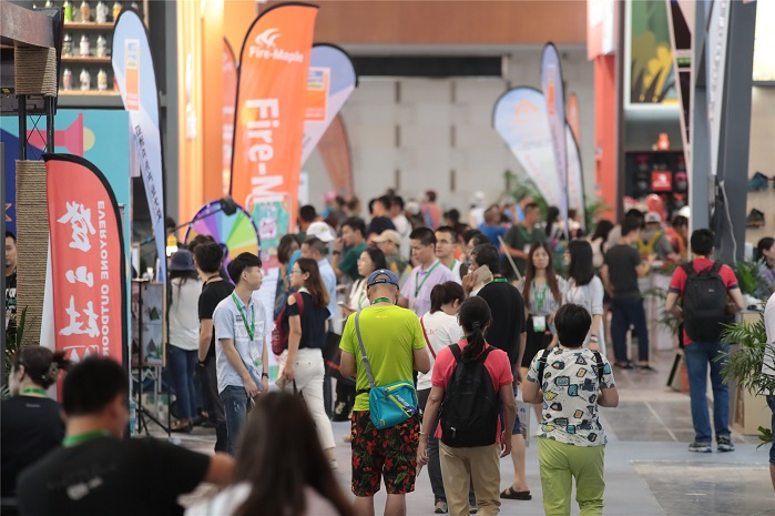 The 12th edition of Asia Outdoor concluded successfully on 2 July 2017 in Nanjing China. © Messe Friedrichshafen/Asia Outdoor