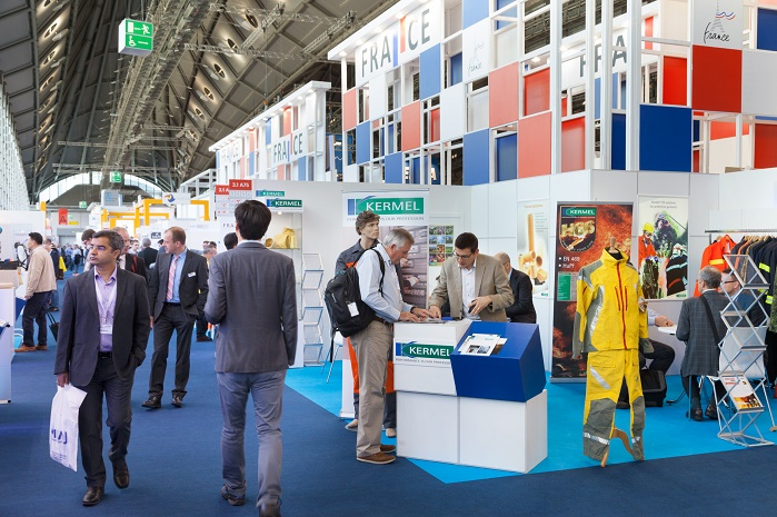 The 2017 Techtextil North America show hosted 167 exhibitors from 16 countries. © Messe Frankfurt/Techtextil North America